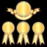 Elementos del diseño - insignias y medallas. Foto de archivo