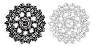 Elementos del diseño para colorear Imagenes de archivo