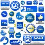 Elementos del diseño para la venta. Foto de archivo