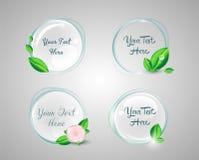 Elementos del diseño web Imagen de archivo