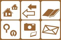 Elementos del diseño - WWW Fotografía de archivo