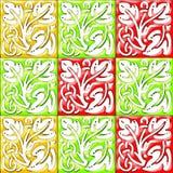 Elementos del diseño de la decoración de la frontera del vector Imagenes de archivo