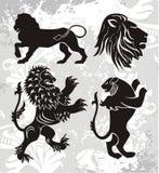 Elementos del emblema stock de ilustración