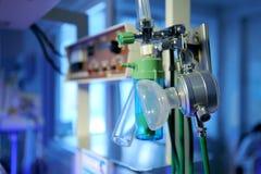 Elementos del equipamiento médico en la clínica de maternidad Fotos de archivo libres de regalías