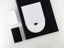 Elementos del estilo corporativo Imágenes de archivo libres de regalías