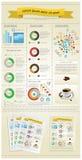Elementos del infographics Imágenes de archivo libres de regalías