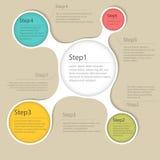 Elementos del infographics ilustración del vector