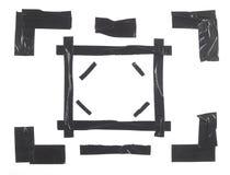 Elementos del marco de la cinta del conducto Foto de archivo libre de regalías
