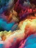 Elementos del movimiento del color Fotos de archivo libres de regalías