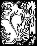 Elementos del ornamento del diseño del remolino Fotografía de archivo libre de regalías