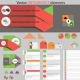 Elementos del vecctor de la idea Imagen de archivo