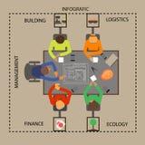 Elementos del vecctor de la idea Foto de archivo libre de regalías