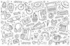 Elementos del vector del inconformista Fotografía de archivo