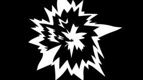 Elementos dibujados mano del FUEGO 24 fps almacen de metraje de vídeo
