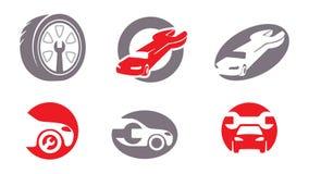 Elementos do auto reparo. Vol. 2 Imagens de Stock Royalty Free