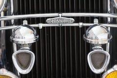 Elementos do carro do americano do vintage Foto de Stock Royalty Free