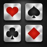 Elementos do casino ilustração royalty free
