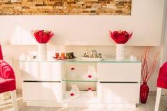Elementos do design de interiores fotografia de stock royalty free