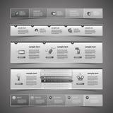 Elementos do design web ilustração do vetor