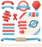 elementos do design web do vetor Imagens de Stock