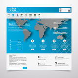 Elementos do design web. Moldes para o Web site. Imagem de Stock Royalty Free