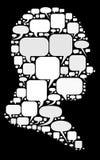 Elementos do discurso Imagem de Stock