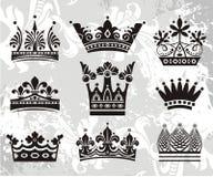 Elementos do emblema Imagem de Stock