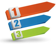 elementos do Informação-gráfico Fotografia de Stock Royalty Free