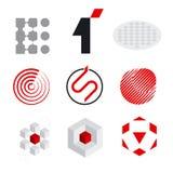 Elementos do logotipo ilustração do vetor