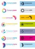 Elementos do logotipo Imagens de Stock Royalty Free