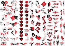 Elementos do logotipo Imagem de Stock Royalty Free