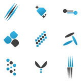 Elementos do logotipo Imagens de Stock