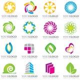 Elementos do logotipo ilustração royalty free