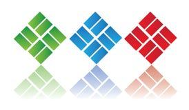 Elementos do logotipo ilustração stock