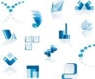 Elementos do logotipo & do projeto do vetor Fotos de Stock Royalty Free