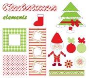 Elementos do Natal Fotografia de Stock Royalty Free