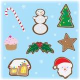 Elementos do Natal Imagem de Stock Royalty Free