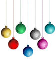 Elementos do Natal - jogo Foto de Stock