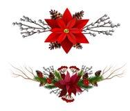 Elementos do Natal para seus projetos ilustração do vetor