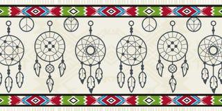 Elementos do nativo americano Imagens de Stock