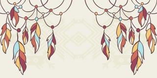 Elementos do nativo americano Foto de Stock