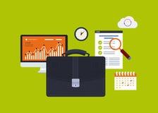 Elementos do negócio Imagens de Stock