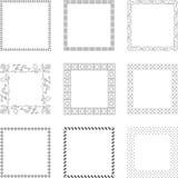 Elementos do ornamento Imagem de Stock