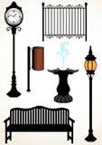 Elementos do parque Imagens de Stock Royalty Free