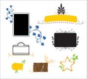 Elementos do projeto Ilustração Stock