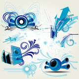 Elementos do projeto Imagens de Stock Royalty Free
