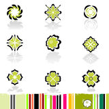 Elementos do projeto Foto de Stock