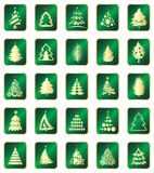 Elementos do projeto do ano novo Imagens de Stock