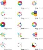 Elementos do projeto do blogue Imagem de Stock