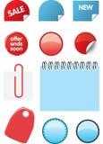 Elementos do projeto do catálogo Imagem de Stock